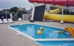 Napkollektoros medencefűtés